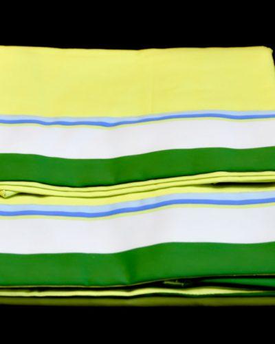 Σετ Σεντόνια Παιδικά Πράσινα με ρίγες