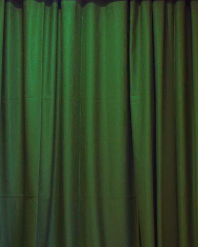 Κουρτίνα έτοιμη ραμμένη πράσινη