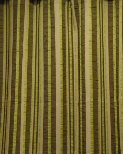 Κουρτίνα έτοιμη ραμμένη ρίγε πράσινη