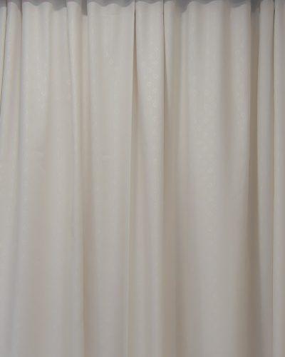 Κουρτίνα έτοιμη ραμμένη Εκρού