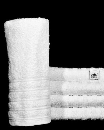 Πετσέτα Ξενοδοχείου Λευκή lines πενιέ