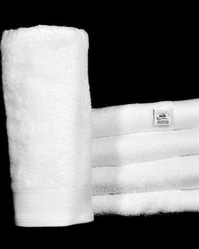 Πετσέτα Ξενοδοχείου Λευκή new border πενιέ