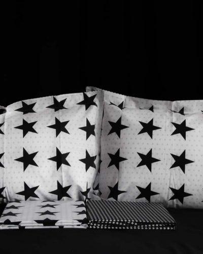 Σετ σεντόνια υπέρδιπλα Stars