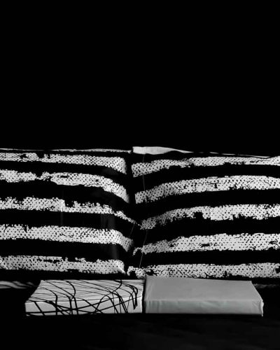 Σετ σεντόνια υπέρδιπλα Black&White