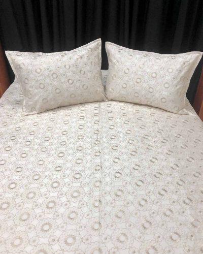 Διακοσμητικό Σετ Εκρού για διπλό κρεβάτι